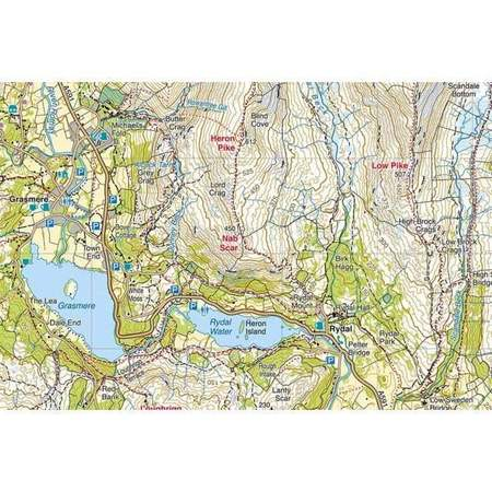 PEAK DISTRICT CENTRAL mapa wodoodporna 1:25 000 HARVEY (5)
