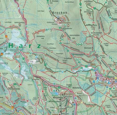 GÓRNE ŁUŻYCE / GÓRY ŻYTAWSKIE 811 wodoodporna mapa turystyczna 1:50 000 KOMPASS 2020 (4)