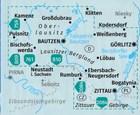GÓRNE ŁUŻYCE / GÓRY ŻYTAWSKIE 811 wodoodporna mapa turystyczna 1:50 000 KOMPASS 2020 (3)