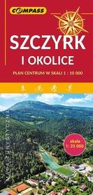 SZCZYRK I OKOLICE mapa turystyczna 1:25 000 / 1:10 000 COMPASS 2019