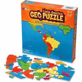 AMERYKA ŁACIŃSKA puzzle GEOTOYS