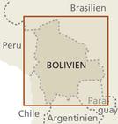 BOLIWIA mapa wodoodporna  1:1 300 000 REISE KNOW HOW (3)