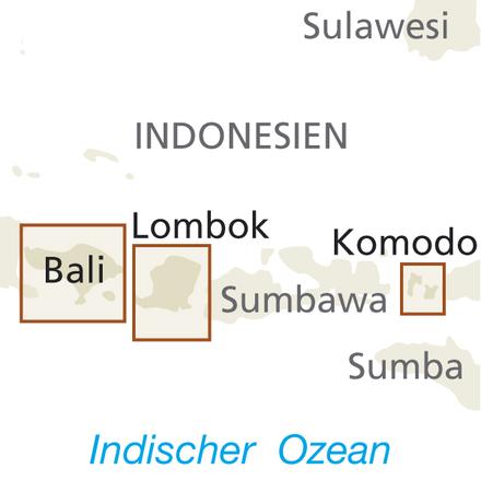 INDONEZJA CZ. 5 - BALI LOMBOK KOMODO mapa 1:150 000 REISE KNOW HOW 2019 (3)