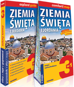 ZIEMIA ŚWIĘTA I JORDANIA 3w1 przewodnik + mapa + atlas EXPRESSMAP 2020