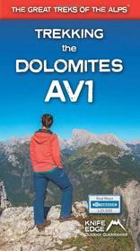 Trekking the Dolomites AV1 przewodnik KEO 2020