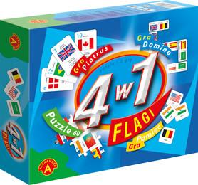 FLAGI 4 w 1 Gra edukacyjna ALEXANDER
