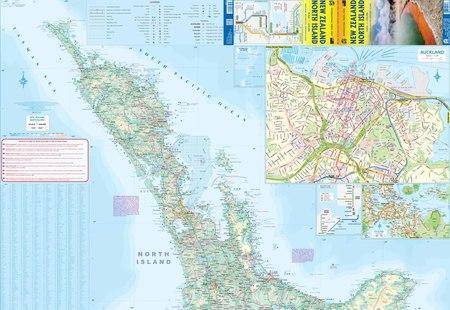 NOWA ZELANDIA WYSPA PÓŁNOCNA 1:660 000 mapa ITMB 2020 (3)