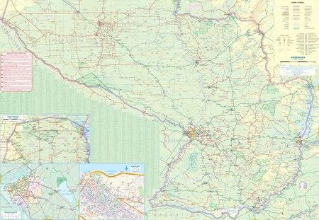 PARAGWAJ I POŁUDNIOWA BOLIWIA mapa wodoodporna ITMB 2019 (2)