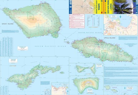 South Pacific Cruising & Samoa mapa ITMB 2020 (3)