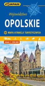 OPOLSKIE mapa atrakcji turystycznych 1:200 000 COMPASS 2020