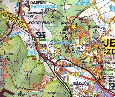 GÓRY KACZAWSKIE I IZERSKIE POGÓRZE KACZAWSKIE I IZERSKIE mapa turystyczna SYGNATURA (3)