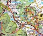 GÓRY IZERSKIE KARKONOSZE POGÓRZE IZERSKIE KOTLINA JELENIOGÓRSKA mapa turystyczna SYGNATURA/CARTOMEDIA (2)