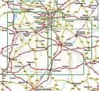 ŁÓDZKIE CZĘŚĆ POŁUDNIOWA mapa turystyczna 1:100 000 COMPASS (2)