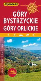 GÓRY BYSTRZYCKIE I ORLICKIE mapa turystyczna 1:35 000 COMPASS 2019