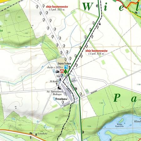WIELKOPOLSKI PARK NARODOWY mapa turystyczna 1:20 000 TopMapa (2)