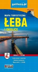 ŁEBA I OKOLICE mapa turystyczna STUDIO PLAN 2019