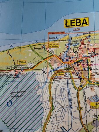 ŁEBA I OKOLICE mapa turystyczna STUDIO PLAN 2019 (2)