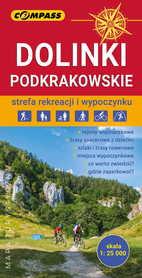 DOLINKI PODKRAKOWSKIE mapa turystyczna 1:25 000 COMPASS 2020
