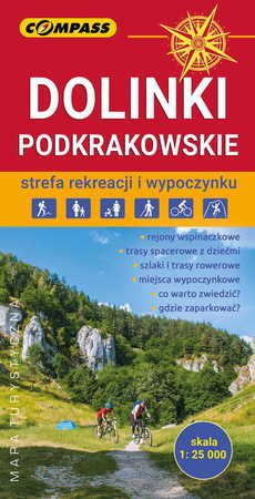 DOLINKI PODKRAKOWSKIE mapa turystyczna 1:25 000 COMPASS 2020 (1)