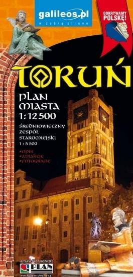 TORUŃ plan miasta 1:12 500 STUDIO PLAN 2020 (1)