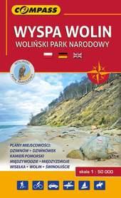 WYSPA WOLIN - WOLIŃSKI PN mapa turystyczna 1:50 000 COMPASS