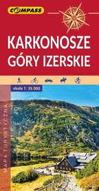 KARKONOSZE GÓRY IZERSKIE mapa turystyczna 1:35 000 COMPASS 2020