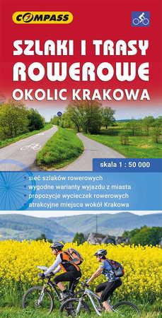 SZLAKI I TRASY ROWEROWE OKOLIC KRAKOWA mapa turystyczna 1:50 000 COMPASS 2020 (1)