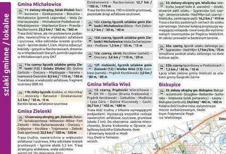 SZLAKI I TRASY ROWEROWE OKOLIC KRAKOWA mapa turystyczna 1:50 000 COMPASS 2020 (4)