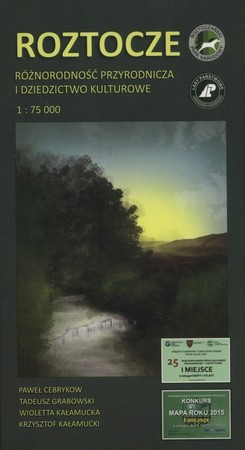 ROZTOCZE zestaw trzech map turystyczno-przyrodniczych KARTPOL (1)
