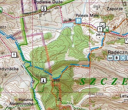 ROZTOCZE zestaw trzech map turystyczno-przyrodniczych KARTPOL (5)
