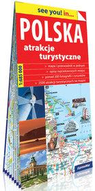 POLSKA Atrakcje turystyczne 1:685 000 EXPRESSMAP