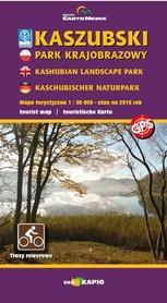 KASZUBSKI PARK KRAJOBRAZOWY mapa turystyczna 1:50 000 EKOKAPIO