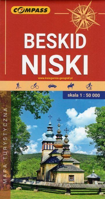 BESKID NISKI mapa turystyczna 1:50 000 COMPASS 2020 (1)