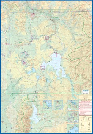 Yellowstone National Park and Wyoming mapa ITMB 2020 (2)