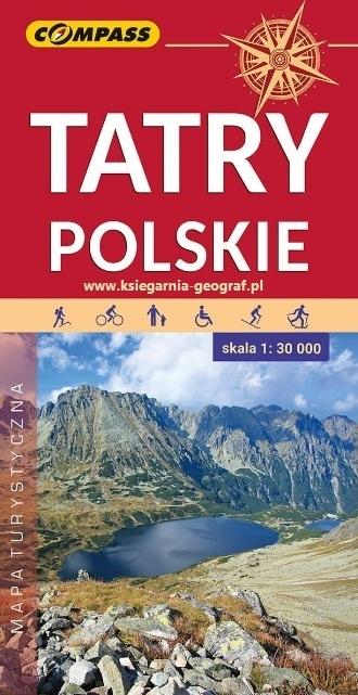 TATRY POLSKIE mapa turystyczna 1:30 000 COMPASS 2020 (1)