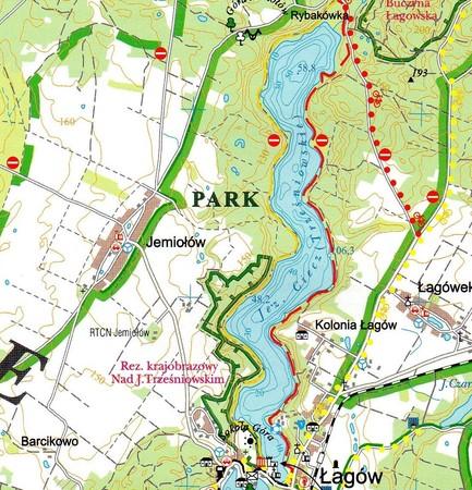POJEZIERZE ŁAGOWSKIE I RÓWNINA TORZYMSKA mapa turystyczna 1:50 000 SYGNATURA (2)
