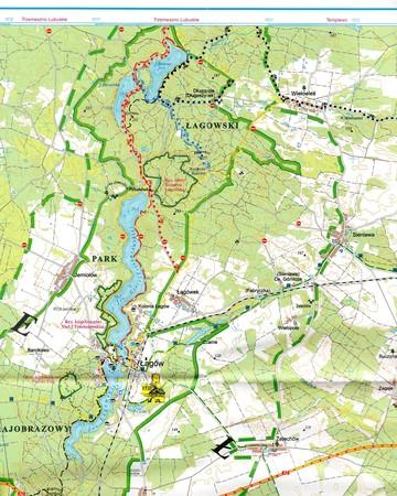 POJEZIERZE ŁAGOWSKIE I RÓWNINA TORZYMSKA mapa turystyczna 1:50 000 SYGNATURA (3)