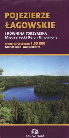 POJEZIERZE ŁAGOWSKIE I RÓWNINA TORZYMSKA mapa turystyczna 1:50 000 SYGNATURA (1)