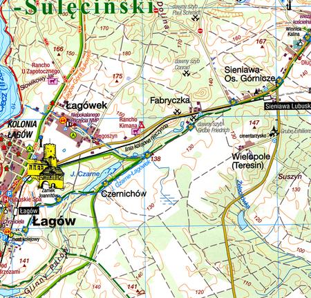 POJEZIERZE ŁAGOWSKIE I RÓWNINA TORZYMSKA mapa turystyczna 1:50 000 SYGNATURA (4)