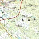 GMINA GUBIN 1:60 000 mapa turystyczna SYGNATURA (2)