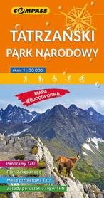 TATRZAŃSKI PARK NARODOWY mapa turystyczna wodoodporna 1:30 000 COMPASS 2019