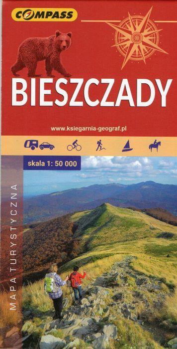 BIESZCZADY mapa turystyczna 1:50 000 COMPASS 2020 (1)