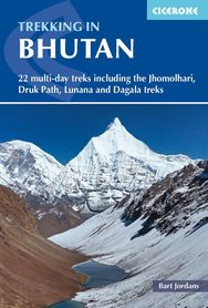 TREKKING IN BHUTAN przewodnik CICERONE