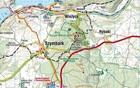KASZUBY ŚRODKOWE mapa turystyczna laminowana 1:55 000 COMPASS 2020 (3)