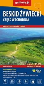 BESKID ŻYWIECKI CZ. WSCH mapa turystyczna 1:25 000 STUDIO PLAN 2020