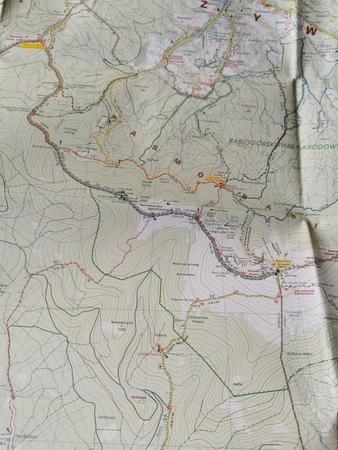 BESKID ŻYWIECKI CZ. WSCH mapa turystyczna 1:25 000 STUDIO PLAN 2020 (4)
