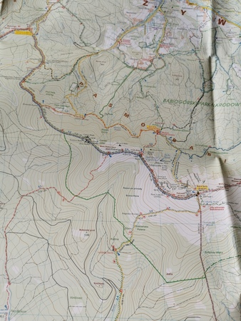 BESKID ŻYWIECKI CZ. WSCH I ZACH komplet map turystycznych 1:25 000 STUDIO PLAN (5)