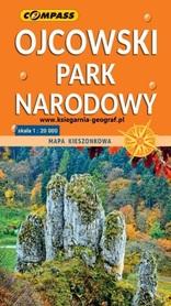 OJCOWSKI PARK NARODOWY mała mapa laminowana 1:20 000 COMPASS 2020