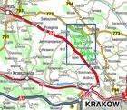 OJCOWSKI PARK NARODOWY mała mapa laminowana 1:20 000 COMPASS 2020 (2)