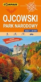 OJCOWSKI PARK NARODOWY mapa turystyczna laminowana 1:20 000 COMPASS 2020